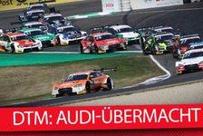 Audi dominiert DTM - Wittmann: Das will doch niemand sehen