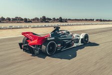 Formel-E-Testfahrten: Mercedes und Porsche treffen Konkurrenz