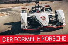 Formel E - Video: Porsche-Rennwagen für Formel-E-Debüt: 99X Electric vorgestellt