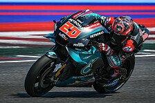 MotoGP-Test Misano - Tag 2: Quartararo mit Fabelzeit voran