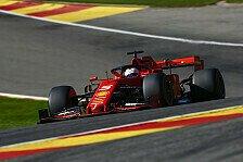 Formel 1 Spa - Vettel: Eine Schwäche muss Ferrari ausmerzen
