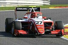 Formel 3 Spa-Qualifying: Daruvala schlägt Piquet im Pole-Kampf