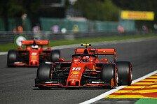 Formel 1 Spa: Leclerc dominiert Vettel in Chaos-Qualifying
