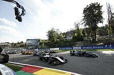 Formel 2 Spa: Hauptrennen nach schwerem Crash abgebrochen