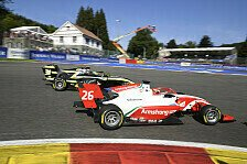 Formel 3 Spa: Armstrong siegt, großer Crash von Laaksonen