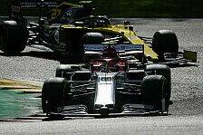 Formel 1, Alfa nimmt Hülkenberg Hoffnung: Fokus auf Giovinazzi