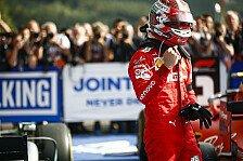 Formel 1, Leclerc widmet Spa-Sieg Hubert: Schwer zu genießen