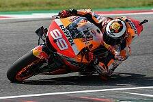 MotoGP - Nach abgebrochenem Test: Lorenzo startet in Misano