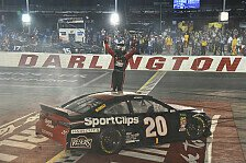 NASCAR Darlington: Erik Jones gewinnt Throwback-Night-Race