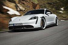 Porsche Taycan 2019: Elektro-Sportler mit bis zu 761 PS