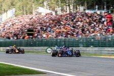 Formel 1, Kvyat stichelt gegen Albon: Red-Bull-Debüt schwach