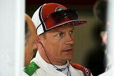 Formel 1, Räikkönen crasht im Qualifying: Zittern vor Strafe