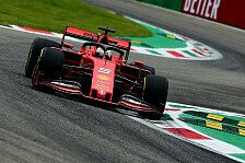 Formel 1 Monza: Vettel gewinnt kürzere Qualifying-Generalprobe