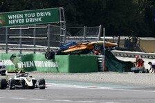 Formel 3 Monza: Alex Peroni nach Horror-Crash mit Wirbelbruch