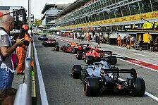 Formel 1, Qualifying-Farce in Monza: Sahen aus wie Idioten