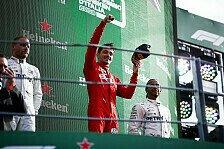 Formel 1, Leclerc jubelt: Sieg als Einzelkämpfer gegen Mercedes