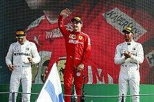 Formel 1 2019: Italien GP - Podium
