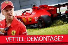 Formel 1 - Video: Rote Krise: Demontiert Sebastian Vettel sein F1-Vermächtnis?