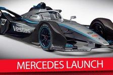 Formel E - Video: Formel E: Mercedes präsentiert neue Fahrer, Auto & Teamchef
