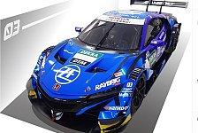 DTM-Gaststarter Button zeigt Honda NSX für Hockenheim-Finale