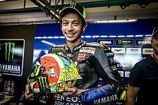 MotoGP - Valentino Rossi zeigt Spezial-Helm für Misano 2019