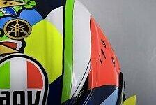 MotoGP: Valentino Rossis Helmdesign für Misano 2019