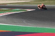 MotoGP Misano 2019: Marc Marquez im Warm Up vorn, Zarco stürzt