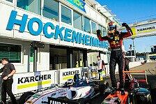ADAC Formel 4: Hauger schreibt mit Dreifachsieg Geschichte
