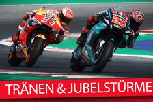 MotoGP - Video: MotoGP Misano: Emotionales Duell MM vs FQ - Analyse-Talk