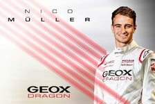 Formel E: Audi lässt Nico Müller zu Dragon - DTM hat Priorität