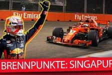 Formel 1 Singapur 2019: Die heißesten Fragen zum Nachtrennen
