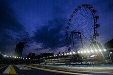 Formel 1 Ticker-Nachlese Singapur 2019: Der Donnerstag