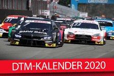DTM-Kalender 2020 offiziell: Saisonstart nicht in Hockenheim!