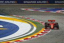 Formel 1 Singapur 2019: Ticker-Nachlese zum Trainingsfreitag
