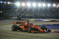Formel 1 Singapur Freitagsanalyse: Was kann das Ferrari-Update?