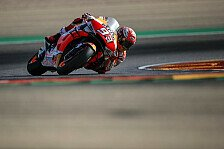 MotoGP Aragon 2019: Marquez dominiert FP4, Pol crasht schwer