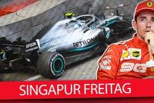 Formel 1 - Video: Formel 1 2019: News nach dem Freitags-Training in Singapur