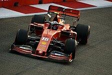 Formel 1, Singapur: Leclerc mit Bestzeit vor Hamilton im FP3