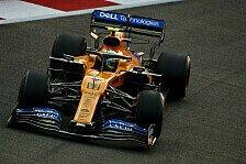 Formel 1, Norris verflucht sich selbst: Idiot, Hirn ausgegangen
