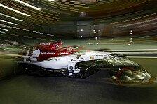 Formel 1 Singapur, Räikkönen küsst Mauer: Vertrauen nicht da