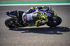 MotoGP - Rossi enttäuscht mit P8 in Aragon: Reifen als Problem