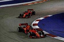 Formel 1 Singapur LIVE: Vettel gewinnt, aber Ärger mit Leclerc