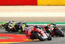 Dovizioso in Aragon von P10 auf 2: In der MotoGP nicht leicht
