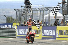 MotoGP Aragon - Marc Marquez: Nur vier Runden Gas gegeben