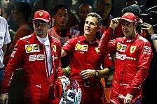 Ferrari erklärt Strategie: Deshalb durfte Vettel gewinnen