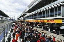 Formel 1 Live-Ticker Russland: Der Donnerstag in Sotschi
