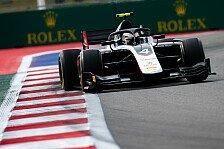 Formel 2 Sotschi-Qualifying: De Vries holt Pole vor Latifi
