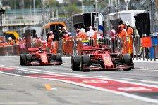 Formel 1 Russland: Vettel, Leclerc fürchten nicht einmal Regen