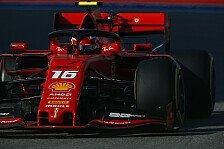 Formel 1 Russland-Qualifying: Leclerc holt vierte Pole in Serie