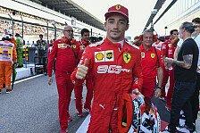 Formel 1, Leclerc über Pole-Serie: Passiert nicht von selbst
